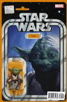 Star Wars #20 - Christopher Action Figure (Yoda) Variant Cover